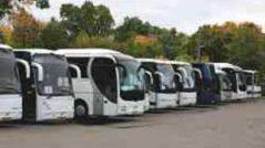 Парковка туристических автобусов
