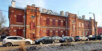 Суворовский городок в Новом Петергофе