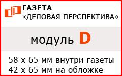 """Модуль """"D"""" в газете """"Деловая перспектива"""""""