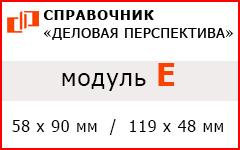 """Модуль """"E"""" в Справочнике """"Деловая перспектива"""""""