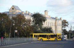 Автобус в г. Ломоносов