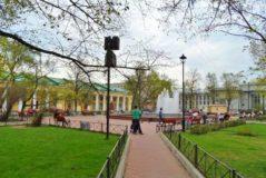 Андреевский сад в Кронштадте