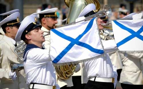 Концерт ко Дню ВМФ