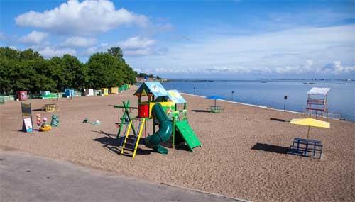 Пляж в Кронштадте