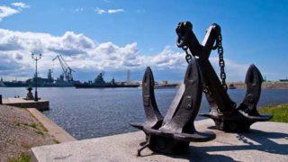 Кронштадт - база Балтийского флота
