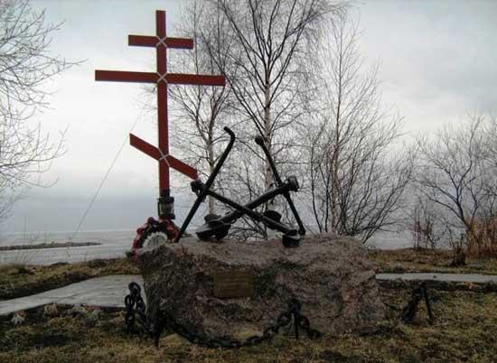 Мемориал Первому морскому десанту в яхт-клубе «Балтиец»