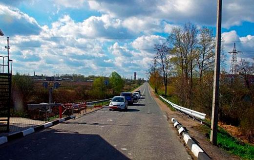 Ропшинское шоссе в Петергофе