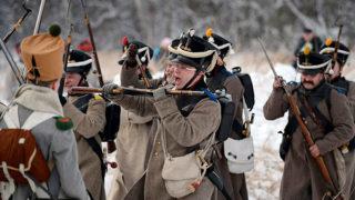 Реконструкция событий войны 1812 года