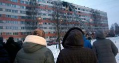 Взрыв в доме на пр.Народного Ополчения 13 марта 2018 года