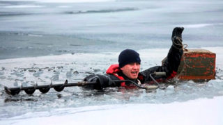 Спасение зимних рыбаков