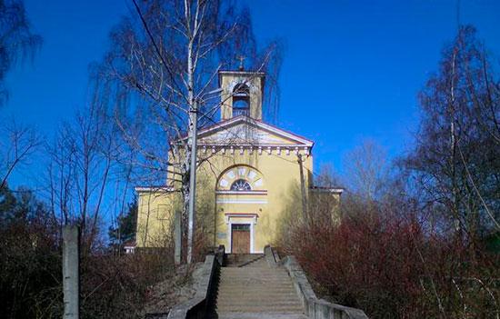 Церковь св. Иоанна в Мартышкино