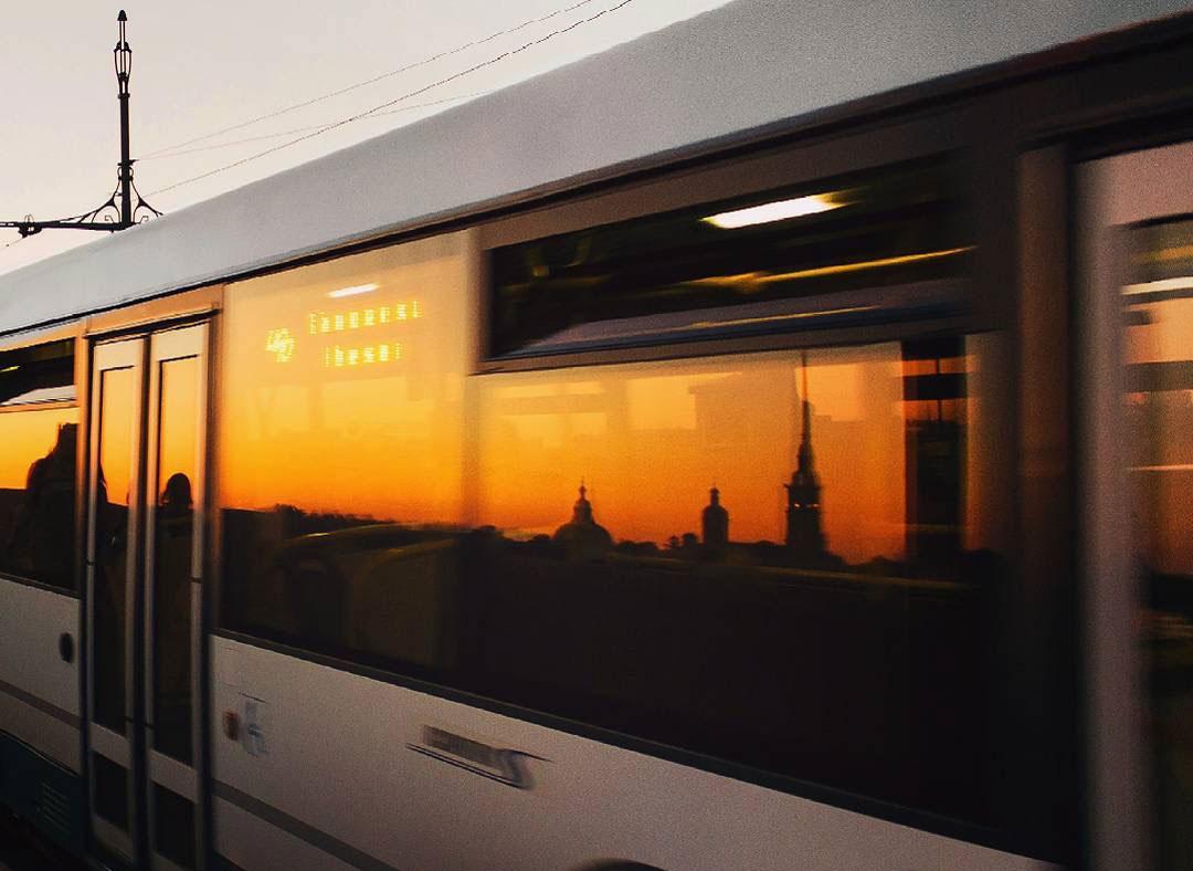Автобус Санкт-Петербурга