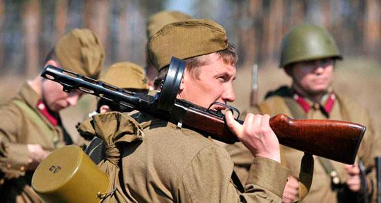 Реконструкция боя Великой Отечественной войны