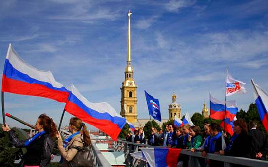 День России в Санкт-Петербурге