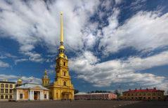 Соборная площадь перед Петропавловским собором