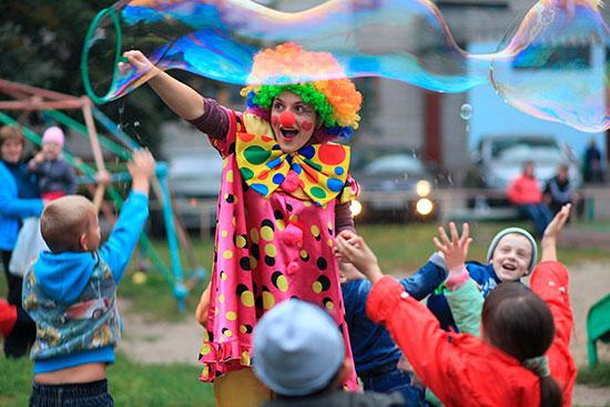 Детский уличный праздник