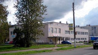 Здание бани в Ломоносове на ул. Красного Флота 34А