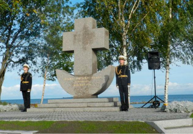 Мемориальный комплекс в память первой высадки Морского Десанта в Красносельском районе
