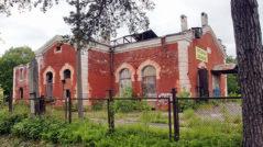 Электростанция в Александровском парке Петергофа